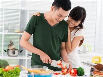Nghiên cứu cho thấy muốn hôn nhân hạnh phúc, chồng phải siêng làm việc nhà với vợ