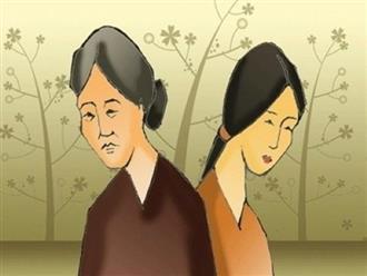 Sống chung với mẹ chồng không dễ, sống chung với con dâu lại càng khó hơn