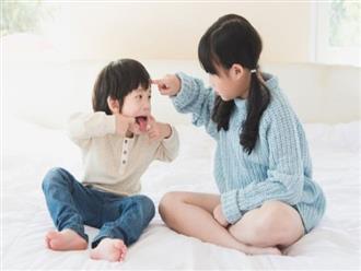 Con cái trong nhà suốt ngày cãi nhau thì đây chính là điều mà cha mẹ nên làm thay vì can ngăn