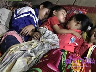 Chồng tử vong, vợ nguy kịch trên đường bán măng rừng, 3 đứa con bơ vơ, không nơi nương tựa