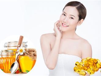 Cách làm đẹp da mặt bằng vitamin E hiệu quả sau 7 ngày