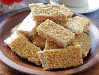 Học ngay cách làm kẹo mè xửng tại nhà đậm đà hương vị xứ Huế