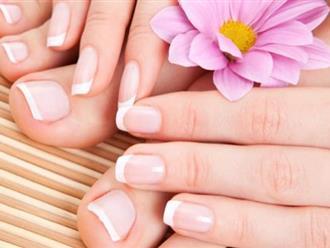 Không ngờ cách làm móng tay trắng hồng chỉ đơn giản từ sản phẩm này