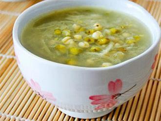 Cách nấu chè hạt sen tươi với đậu xanh chuẩn ngon khó cưỡng