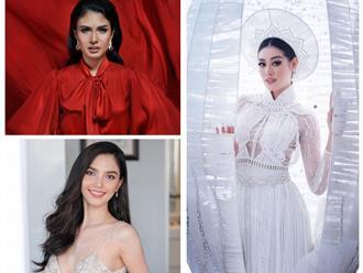 Đối thủ Đông Nam Á 'đáng gờm' của Khánh Vân tại Miss Universe: Thái Lan nóng bỏng, thần thái ngút trời, Indonesia 'lão luyện' thi cử, nhan sắc chín muồi
