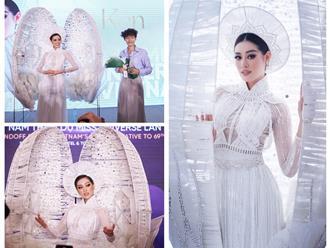Khánh Vân chính thức hé lộ trang phục dân tộc, cư dân mạng 'sốc toàn tập' vì quá đẹp