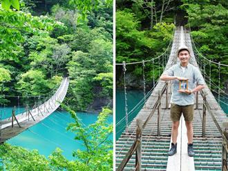 Hành trình du lịch xuyên Nhật Bản 'trên cả tuyệt vời' của chàng du học sinh Việt và lời hứa đưa di ảnh bố mẹ đồng hành