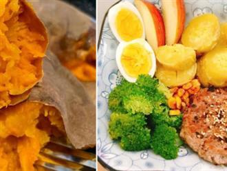 Ăn khoai lang có thể giúp giảm cân nhưng ăn thế nào mới đúng?