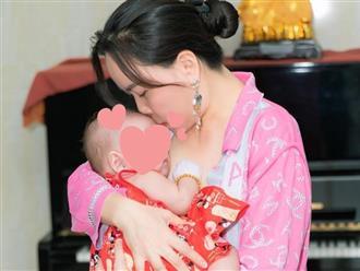 Hiếm lắm mới thấy Phượng Chanel khoe ảnh con gái chung với Quách Ngọc Ngoan