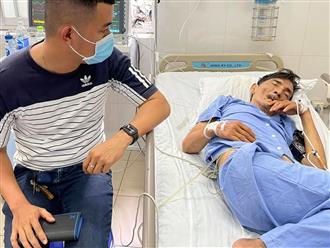 MC Phạm Anh cập nhật tình hình diễn viên Thương Tín: 'Đi tiểu không ý thức, não bị tổn thương một phần'