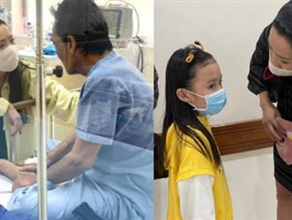 NS Trịnh Kim Chi công bố số tiền kêu gọi giúp đỡ NS Thương Tín, con gái đã đến viện thăm bố