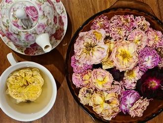 6 bước để 'hô biến' hoa hồng thành một loại trà siêu tốt cho sức khỏe