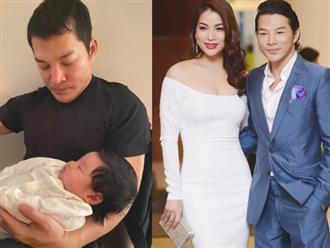 Hậu ly hôn 7 năm với vợ cũ Trương Ngọc Ánh, Trần Bảo Sơn lên chức bố lần hai
