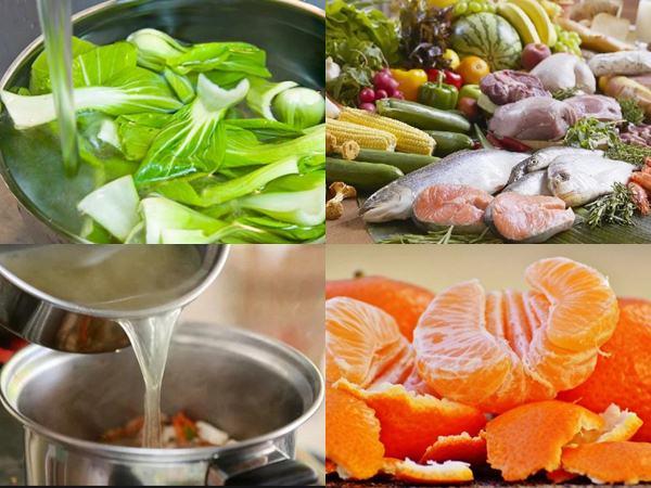 5 nguyên tắc cần phải nhớ khi nấu ăn để không mất giá trị dinh dưỡng của thực phẩm