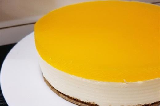 Không cần lò nướng, hãy thực hiện ngay món cheesecake xoài cho thực đơn tráng miệng nào - Ảnh 3