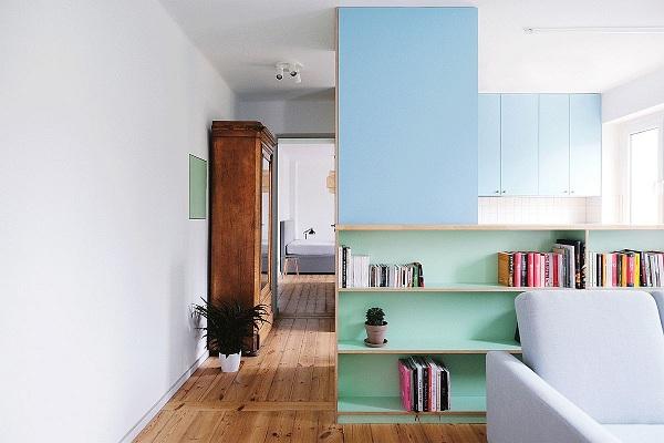 Cải tạo căn hộ chung cư 55m2 tồi tàn thành không gian hiện đại - Ảnh 1