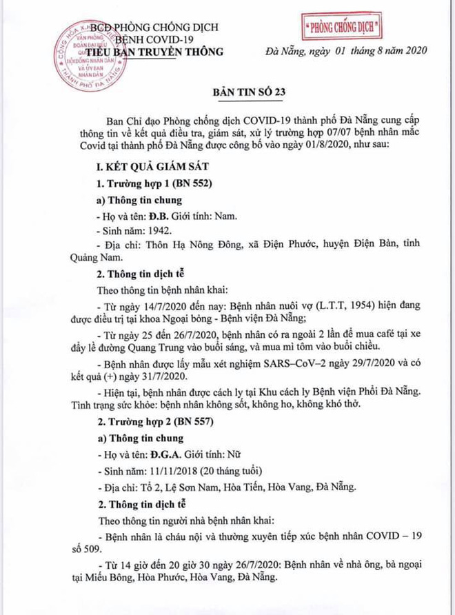 Lịch trình di chuyển của bệnh nhân Covid-19 trẻ tuổi ở Đà Nẵng - Ảnh 1