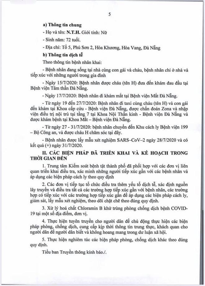 Lịch trình di chuyển của bệnh nhân Covid-19 trẻ tuổi ở Đà Nẵng - Ảnh 5