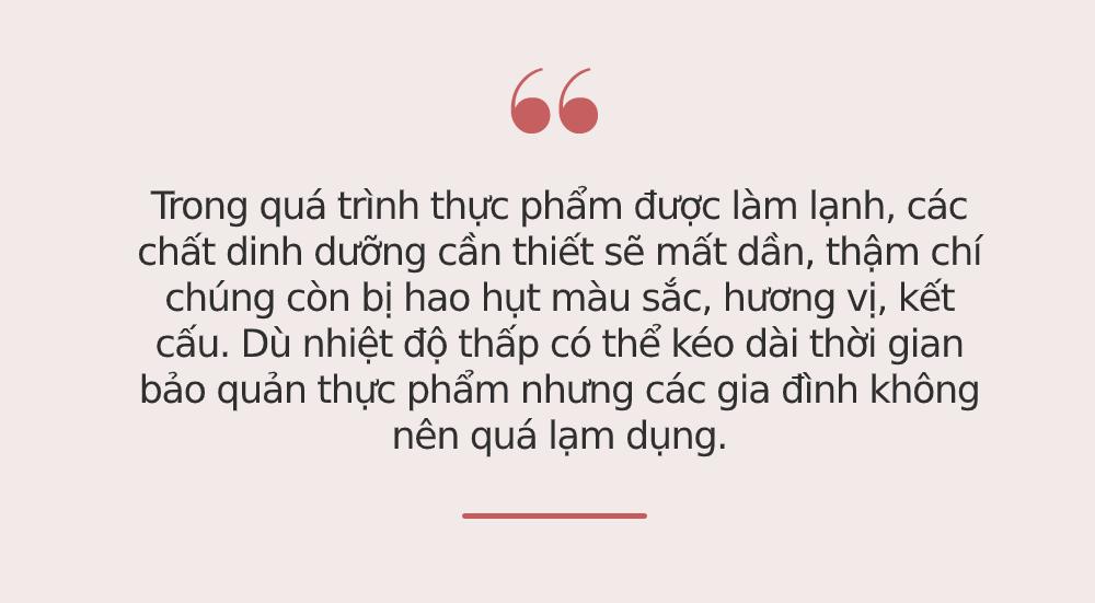 Đây là thói quen sử dụng tủ lạnh nguy hiểm mà rất nhiều người Việt đang phạm phải, không sớm thay đổi bệnh tật sẽ tìm đến gia đình bạn - Ảnh 1