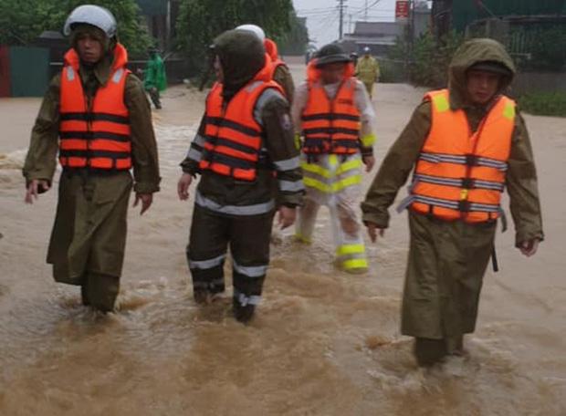 Hà Tĩnh: Bé gái 3 tuổi mất tích trong mưa lũ - Ảnh 1