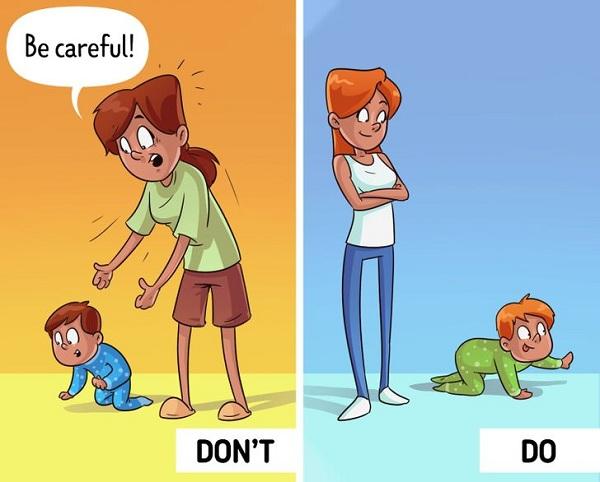 Liên tục giúp đỡ, cha mẹ làm con mất đi 5 điều này - Ảnh 1