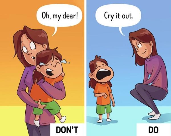 Liên tục giúp đỡ, cha mẹ làm con mất đi 5 điều này - Ảnh 3