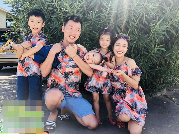 Ốc Thanh Vân khoe ảnh gia đình hạnh phúc, tiết lộ cách hai vợ chồng phân chia việc chăm con - Ảnh 1