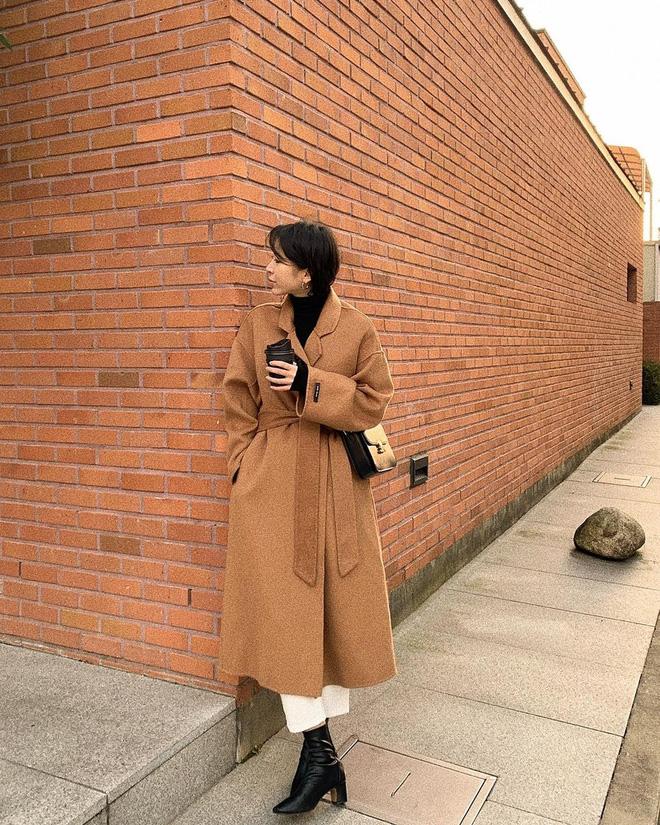 Trời rét đậm là chị em phải ôn lại ngay 4 cách diện áo khoác dạ siêu ấm mà sang chảnh, thanh lịch có thừa của gái Hàn - Ảnh 10