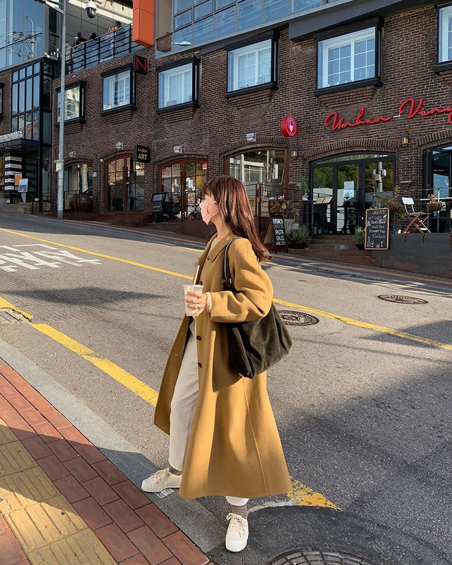 Trời rét đậm là chị em phải ôn lại ngay 4 cách diện áo khoác dạ siêu ấm mà sang chảnh, thanh lịch có thừa của gái Hàn - Ảnh 11