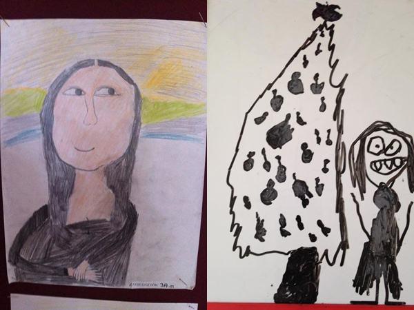 """Cười đau ruột với những """"kiệt tác nghệ thuật"""" của trẻ mà chỉ có ai làm cha mẹ mới có cơ hội được ngắm"""