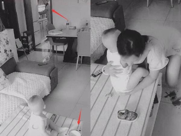 Mẹ lạnh nhạt, bố đặt camera trong nhà rồi bật khóc khi thấy cảnh vợ chăm con