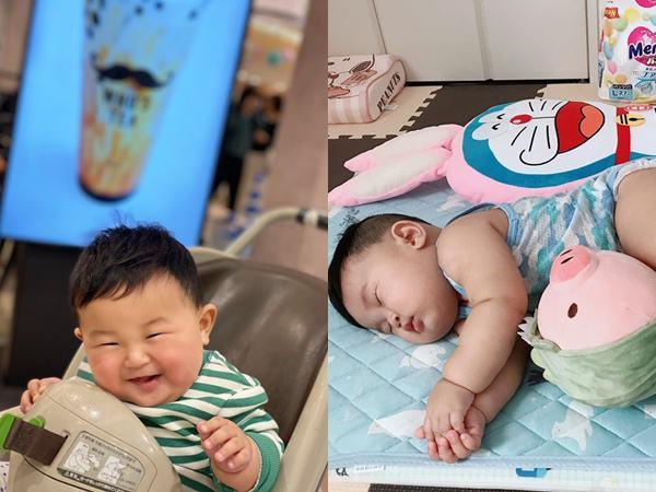 """Muôn vàn tư thế ngủ của em bé """"sumo"""" khiến cư dân mạng không ngừng """"thả tim"""""""