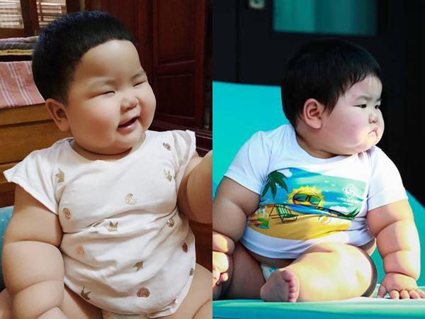 Nuôi con bằng sữa mẹ, bé gái Nghệ An 11 tháng nặng 20kg, mỗi tháng tăng 2kg