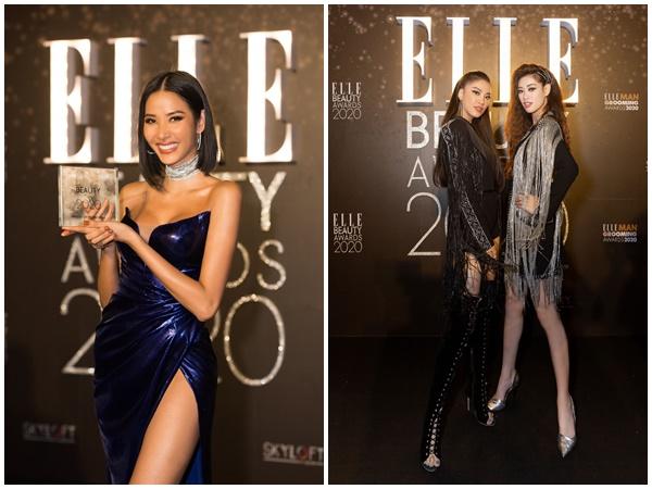 Á hậu Hoàng Thùy được vinh danh 'Best body of the year' tại Elle Style Awards 2019