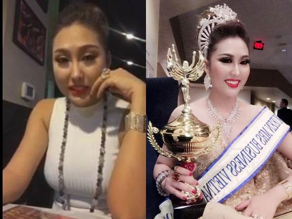 Phi Thanh Vân chia sẻ cảm xúc khi đăng quang Hoa hậu Doanh nhân Thế giới người Việt 2017
