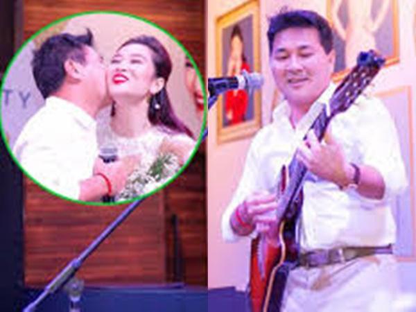 Chồng 'soái ca' khoe tài đàn hát trong tiệc sinh nhật quý bà Thu Hương