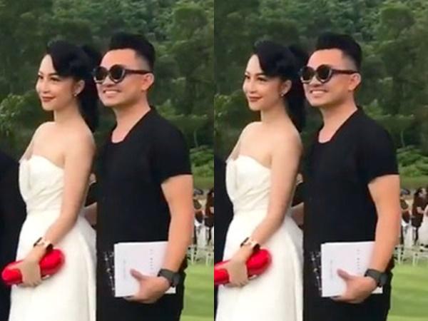 Bạn trai đại gia tháp tùng Linh Nga ra Huế xem show Đỗ Mạnh Cường