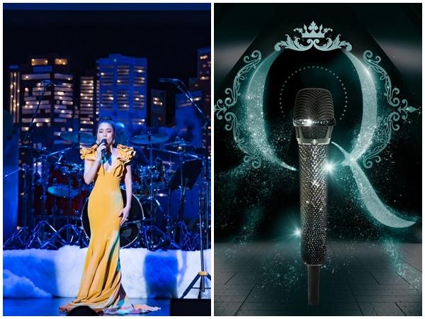 Lệ Quyên sẽ thăng hoa trong Q Show 2 bằng chiếc micro đắt giá nhất thế giới