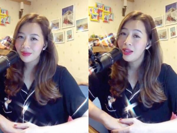 MC Diệp Chi khoe giọng ngọt ngào cover hit của Trịnh Thăng Bình