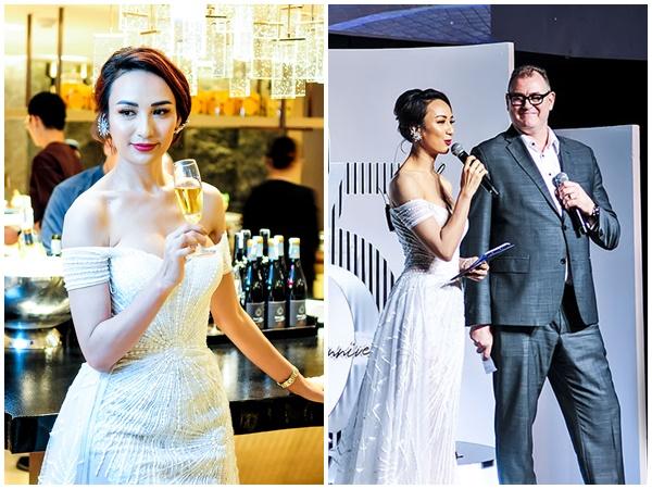 Phương Khánh, Ngọc Diễm, Uyên Linh chúc mừng New World Sài Gòn Hotel đổi diện mạo mới