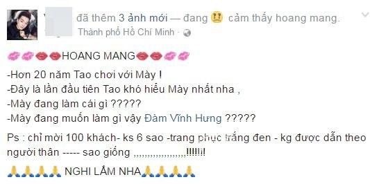 Ca sĩ Vũ Hà tiết lộ quy định đặc biệt trong bữa tiệc của Mr. Đàm