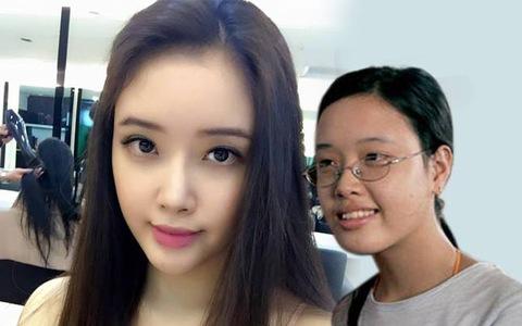 Không còn là cô bé tóc xoăn mắt cận, em gái Mai Phương Thuý ngày càng  'trổ mã' xinh đẹp xứng danh mỹ nhân - Ảnh 1