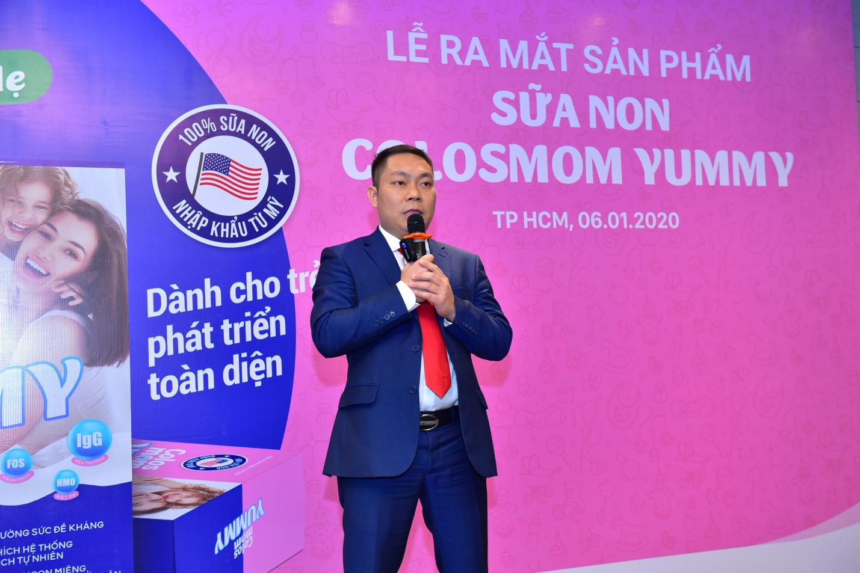 Sữa non Colosmom Yummy: hỗ trợ dinh dưỡng chuyên sâu phù hợp với cơ địa trẻ em Việt Nam