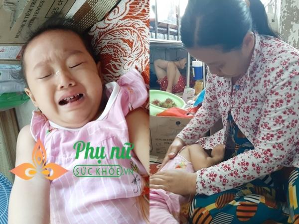 Thương cảnh người mẹ nghèo khổ đi xin từng đồng cứu lấy con gái 19 tháng tuổi bị ung thư máu