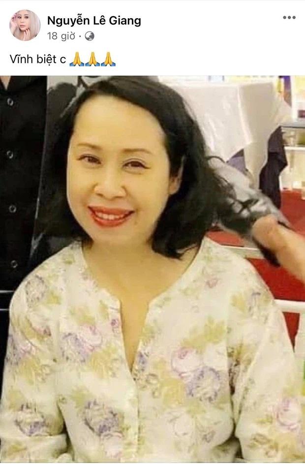 BTV Cẩm Liên qua đời vì ung thư thận, NS Hồng Vân và Lê Giang đau lòng, nghệ sĩ xót xa vì cảnh vắng lặng tại tang lễ - Ảnh 3