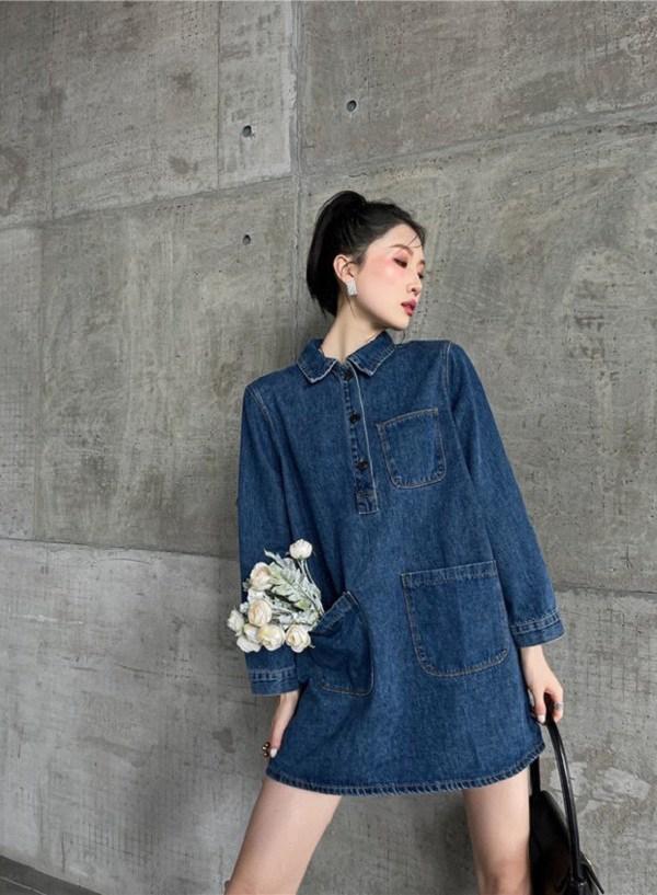 3 mẫu váy cho những ngày trời trở lạnh, chị em mặc vào xinh như hot girl xứ Hàn - Ảnh 1