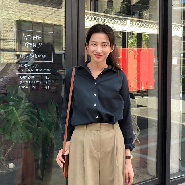 Mách nàng công sở cách chọn màu sắc áo sơ mi thật chuẩn để dáng gầy đi, da trắng trẻo - Ảnh 4