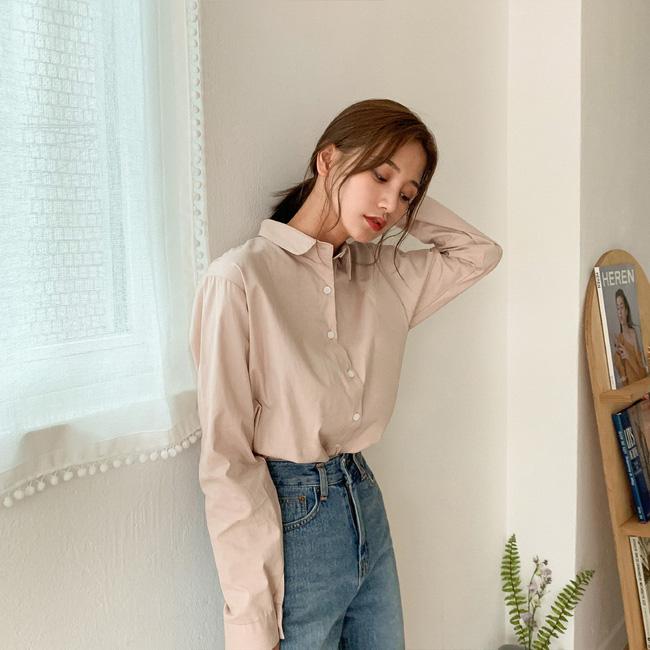 Mách nàng công sở cách chọn màu sắc áo sơ mi thật chuẩn để dáng gầy đi, da trắng trẻo - Ảnh 1