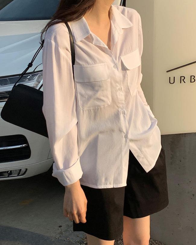 Mách nàng công sở cách chọn màu sắc áo sơ mi thật chuẩn để dáng gầy đi, da trắng trẻo - Ảnh 5