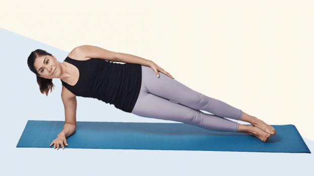 Bài tập plank '2 trong 1' giúp bạn có vòng bụng phẳng lì không cần đến phòng gym - Ảnh 3